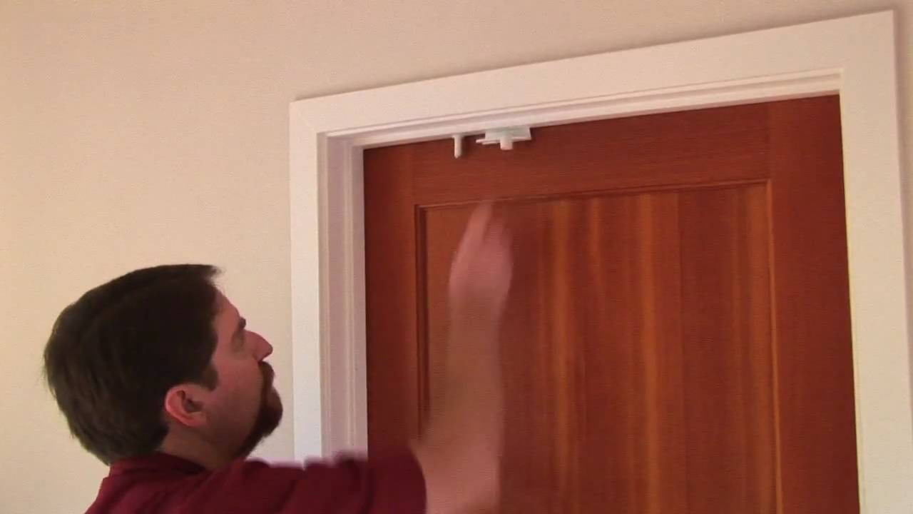 sc 1 st  YouTube & Baby Proof with the Door Top Lock - YouTube