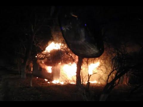 DSNSKHM: Вогнеборці ліквідували пожежу житлового будинку, в результаті якої постраждало троє людей