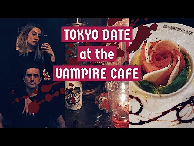 Tokyo date at The Vampire Cafe in Ginza | Japan Vlog
