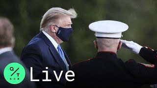 LIVE: Trump Spends First Night at Walter Reed for Covid-19 Treatment | Happening Today