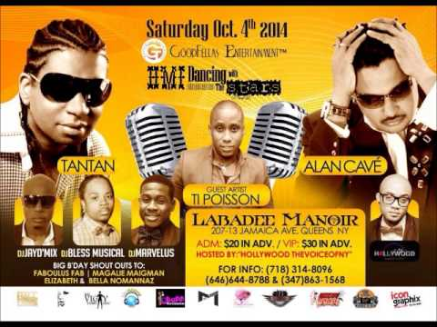 HMI DANCING WITH THE STARS PROMO MIX FEAT. ALAN CAVE+TANTAN+TIPOISSON(SAT. OCT. 4TH@ LABADEE MANOIR)