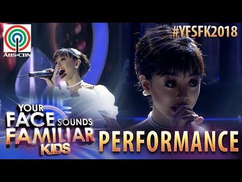 Your Face Sounds Familiar Kids 2018: Sheena Belarmino as Sharon Cuneta | Pangarap Na Bituin