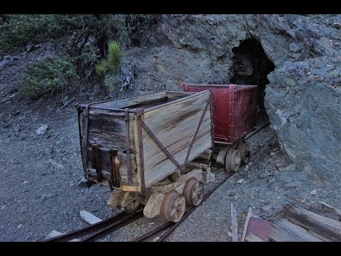 Incredibly Rare Wooden Ore Cart Found Inside A Mine!