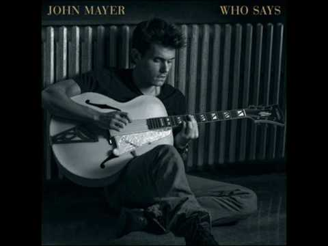 John Mayer - Edge of Desire (Acoustic) *HIGH QUALITY*