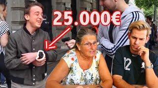 OMA REAGIERT: 14-Jähriger mit 25.000€ UHR 👵🏼👀