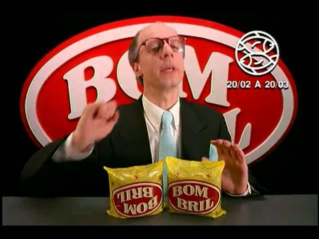 Comercial BOMBRIL - Signos: peixes