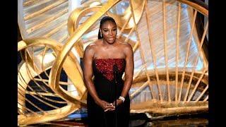 Serena & Maria Dazzle At Oscars