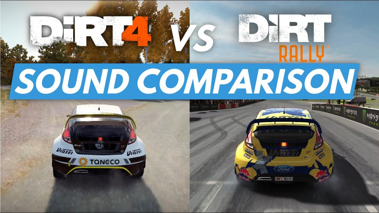 dirt 4 vs dirt rally sound comparison cockpit chase cam youtube. Black Bedroom Furniture Sets. Home Design Ideas