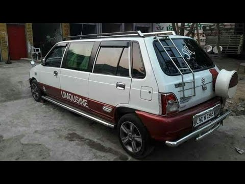 Maruti 800cc Modified in india 2017 by || ONE media
