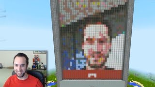 Video Call in Minecraft
