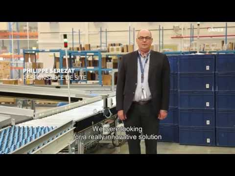 Innovation by Daher : an automatic packaging module to enhance shipping