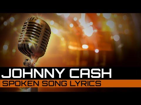 Spoken Song Lyrics: Johnny Cash - Sunday Morning Coming Down