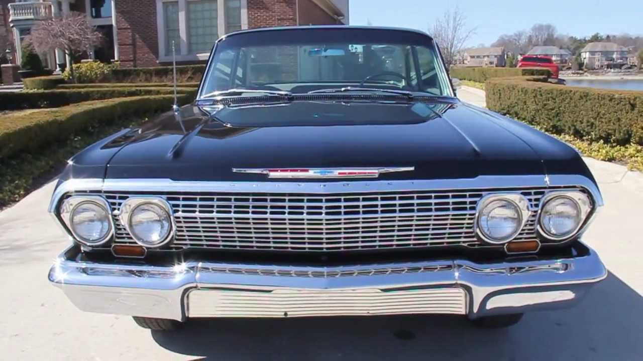 1963 Chevrolet Biscayne Classic Muscle Car For Sale In Mi