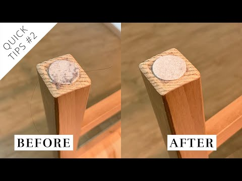 How to Clean Furniture Pads without Spreading the Dirt ★ Quick Tips #2 ★