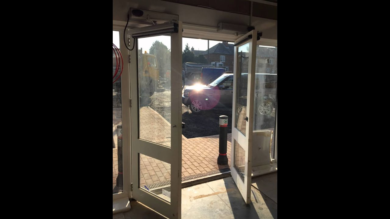 Youtube Automated Cms By Teedeskdev: New Business? Think Automatic Doors