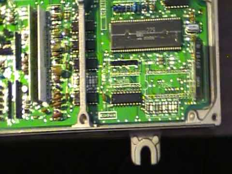 anatomy of P06 ecu - YouTube