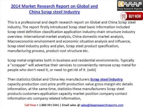 Global & China Scrap Steel Industry Technology Development & Market Data