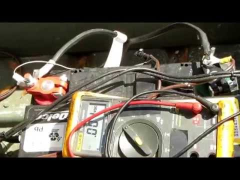 Use A Multimeter troubleshoot. Boat Motor Will Not Start.