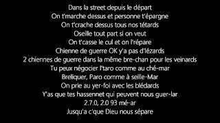 Kaaris -  Dès le Depart (Lyrics on Screen) [Or Noir]