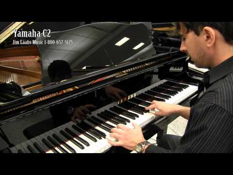 Yamaha c2 grand piano video demo youtube for Yamaha c2 piano for sale
