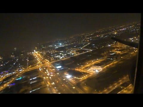 Emirates Boeing 777-300ER taking us to Tehran's Imam Khomeini Airport
