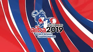 AIBA world boxing championships / Day 2 / ring A