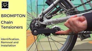 Chain Tensioner Chain Stabilizer Rear Derailleur For Brompton Practical