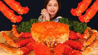 Mukbang 대박! 살아있는 킹크랩 치토스 튀김 먹방 HOT CHEETOS FRIED KING CRAB ASMR Eatingsound eatingshow Ssoyoung