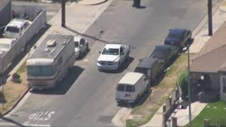 08/29/18: Car Chase White Truck Leads Police in Circles - Unedited