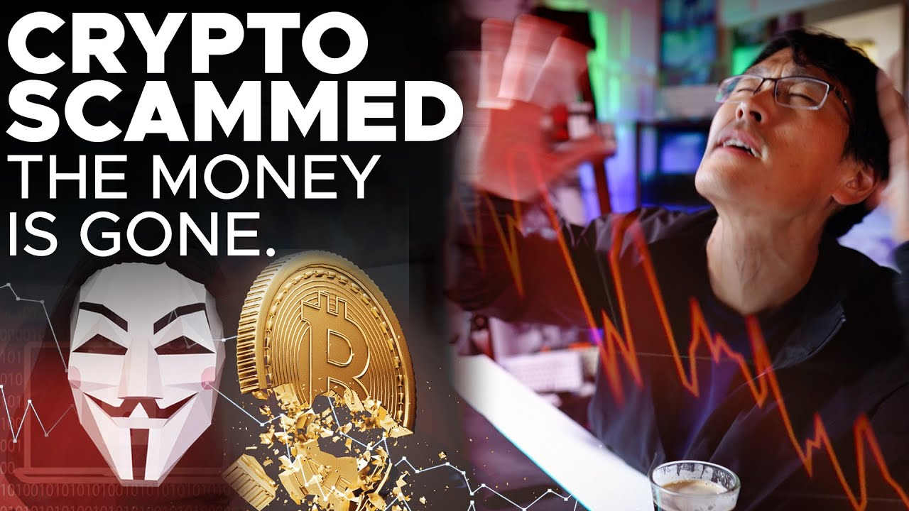 CRYPTO SCAMMED.  THE MONEY IS GONE, DISAPPEARED OVERNIGHT.