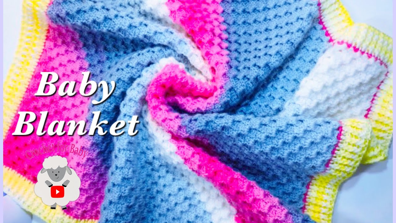 Crystal Waves C2c Baby Blanket With Border Fast And Easy