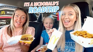 Going on a ROADTRIP to Mcdonald's because it's BACK BBY!