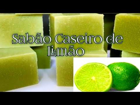 Sabão Caseiro De Limão Vinagre S Soda Youtube