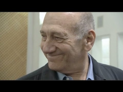 Ehud Olmert in the Israel's Supreme Court   Credit Pool, Reuters