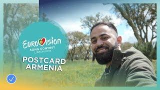 Postcard of Sevak Khanagyan from Armenia - Eurovision 2018