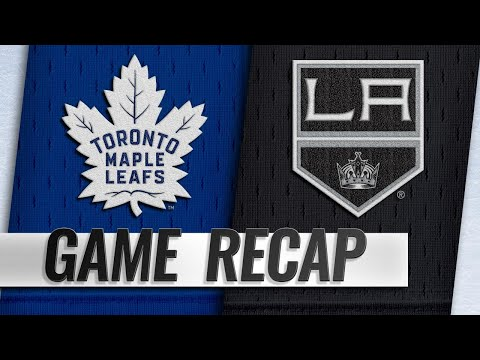 Maple Leafs roll past Kings, 5-1