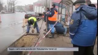 В Ярославле мужчина провалился под асфальт