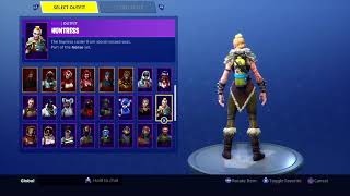AIR TANK on All of My Skins! - Fortnite Reef Ranger Back Bling