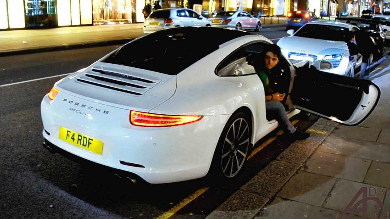 Porsche 991 Rev Battles On Sloane Street London Youtube