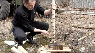 Kizlyar Supreme - Нож Штурм(spm 4v), Сенпай( aus 8). Уличный тест.