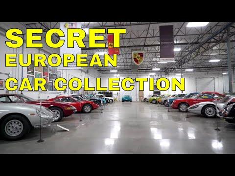 Secret European Car Collection Tour | Classic Porsche, Ferrari, and More!