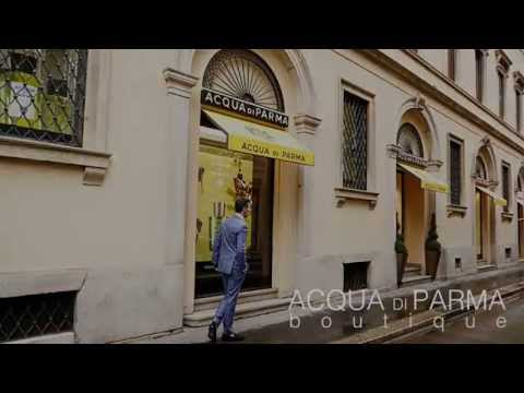 Acqua di Parma Boutique Barber Shop in Milan, Italy