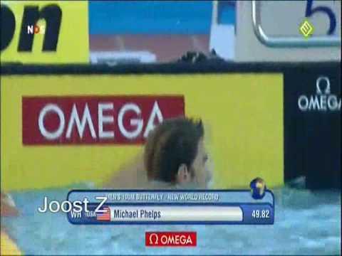 'What the F*ck!' zegt NOS Commentator Jeroen Grueter bij WK Zwemmen 2009