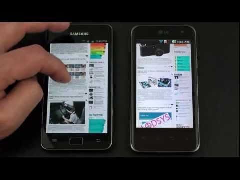 Optimus 2x vs. Galaxy S 2