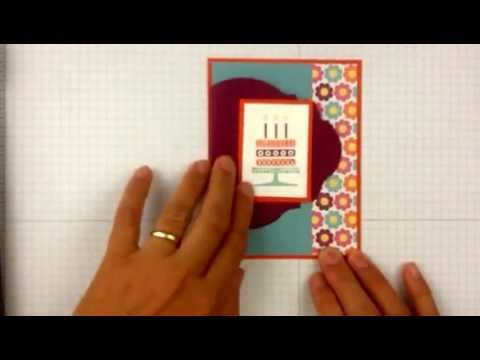 StampinUp Birthday Card Ideas YouTube – Stampin Up Birthday Card Ideas