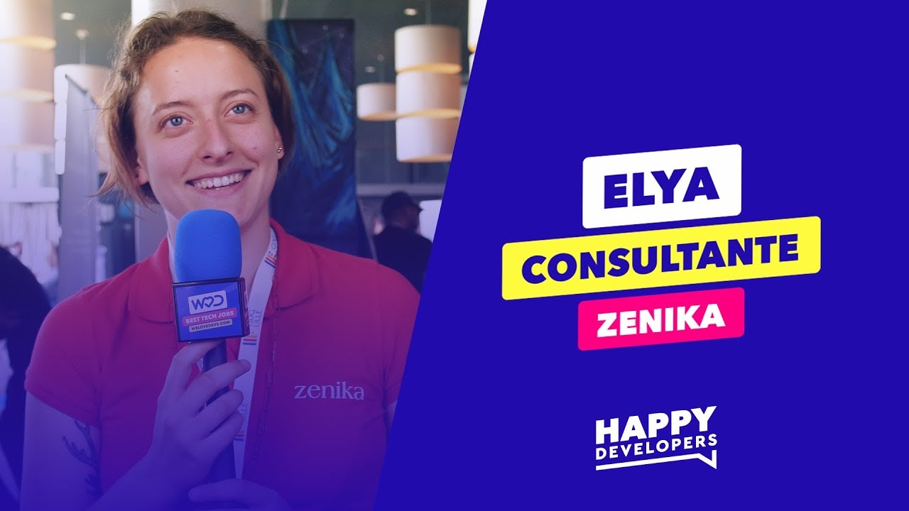Happy Developers - DevFest Lille - Elya de Zenika