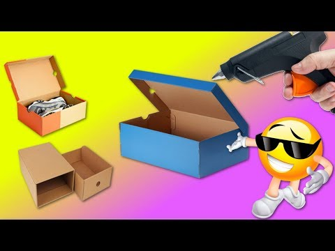 TOP 5 AWESOME CRAFTS made with cardboard BOXES #2