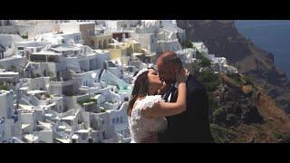 Βασίλης Δήμητρα Next Day Rockin' Wedding Video Santorini Σαντορίνη