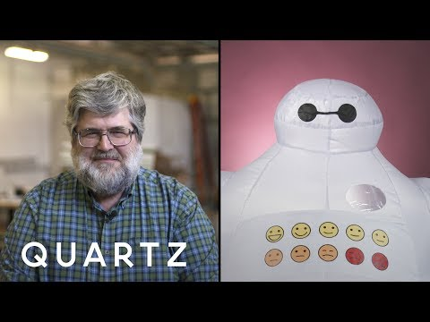 Baymax from Big Hero 6 is real. Here's who created him.