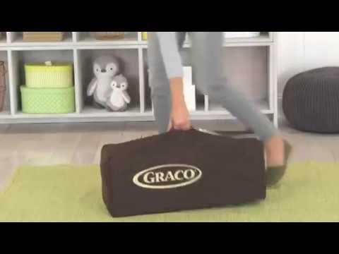 Graco Pack 'n Play Playard Portable Baby Crib Travel Bassinet Playpen Ashford